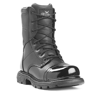"Thorogood 8"" All Leather Side Zip Jump Boot"
