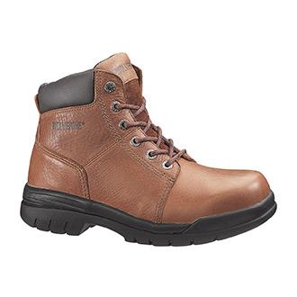 "Wolverine 6"" Marquett Slip Resistant Steel Toe Boot"