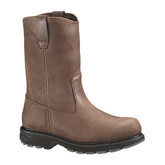 "Wolverine 10"" Wellington Slip Resistant Steel Toe Boot"