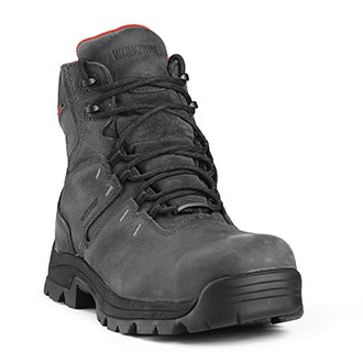 "Wolverine 6"" Bonadventure Waterproof Steel Toe Boot"