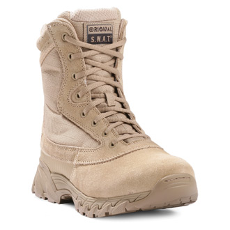 "Original S.W.A.T. 9"" Chase Side Zip Boot (Tan)"
