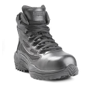 "Reebok 6"" Rapid Response Composite Toe Side Zip Boots"