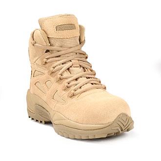 """Reebok 6"""" Rapid Response Composite Toe Side Zip Tactica"""