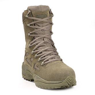 """Reebok 8"""" Side Zip Composite Toe Boot"""