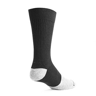 LawPro Boot Socks Black with Grey Toe (3 Pack)