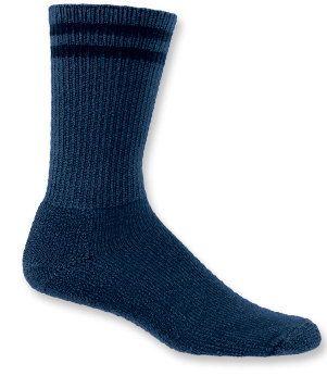 Thorlos Navy Blue Uniform Crew Socks