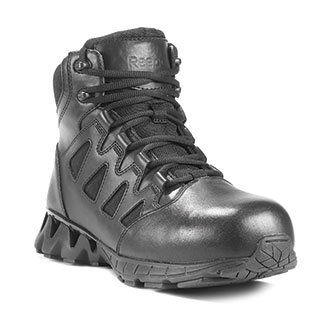 """Reebok 6"""" Zigkick Side Zip Composite Toe Boot"""