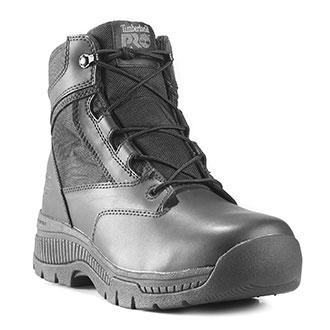 "Timberland 6"" Pro Valor Duty Side Zip Waterproof Boot"