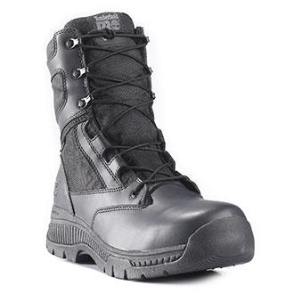 "Timberland 8"" Pro Valor Duty Side Zip Waterproof Boot"