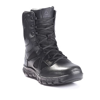 "Reebok 8"" Sublite Cushion Tactical Side Zip Waterproof Boot"
