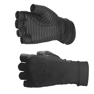 Tommie Copper Half Finger Compression Gloves