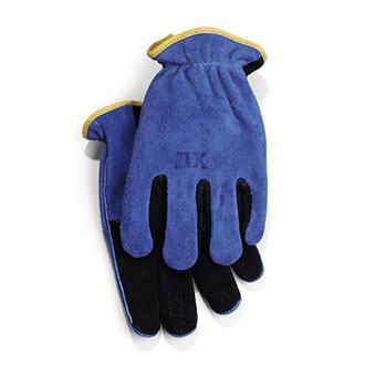 Shelby Cowhide Gloves with Gauntlet Cuffs