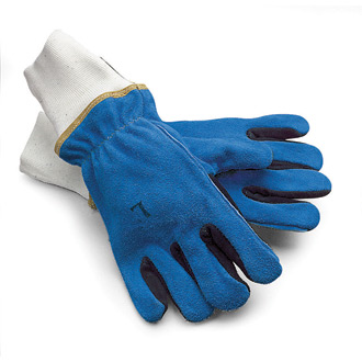 Shelby Cowhide Gloves with Knit Cuffs