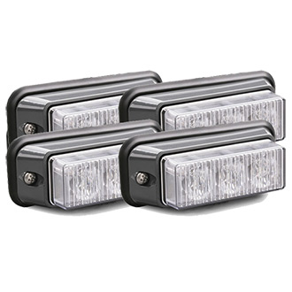 Galls Surface Mount LED Light - 4 Head Kit