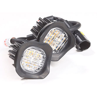 Code 3 4-LED Low Profile Hide-A-Blast (Pair)