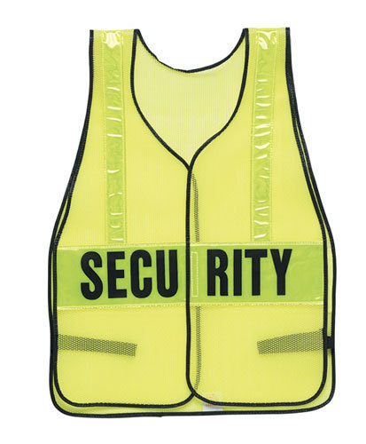 Safety Flag Company Hi Viz Reflective Vest, Lime
