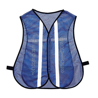 Galls Reflective Mesh Traffic Vest