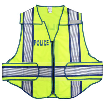 Galls 207 Enforcer Zip-N-Rip Breakaway Traffic Vest