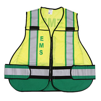 Galls Custom ANSI 207 Safety Vest with Color Codes