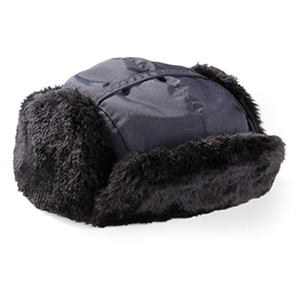 Midway Cap Co. Taslon Faux Fur Trooper Cap