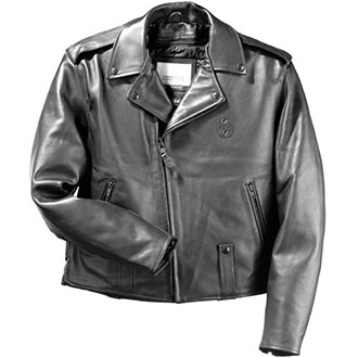 Taylors Leatherwear Pittsburgh Leather Jacket w/ Zip-out Lin