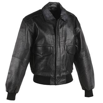 Taylor Leatherwear Goatskin Leather Bomber Jacket