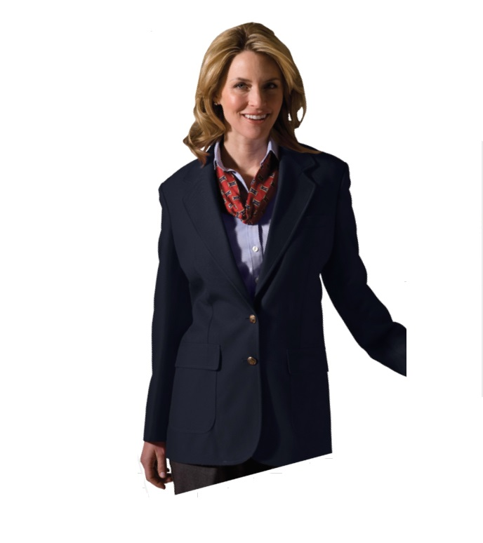Edwards Women's 100% Polyester 2 Button Blazer