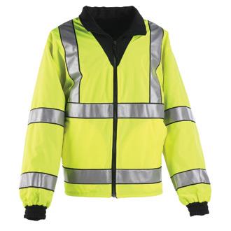 Anchor Hi-Viz Reversible Fleece Jacket