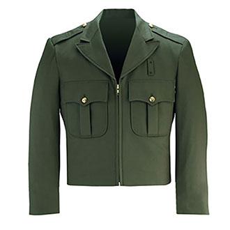 IKE JACKET GREEN DAC/WOOL