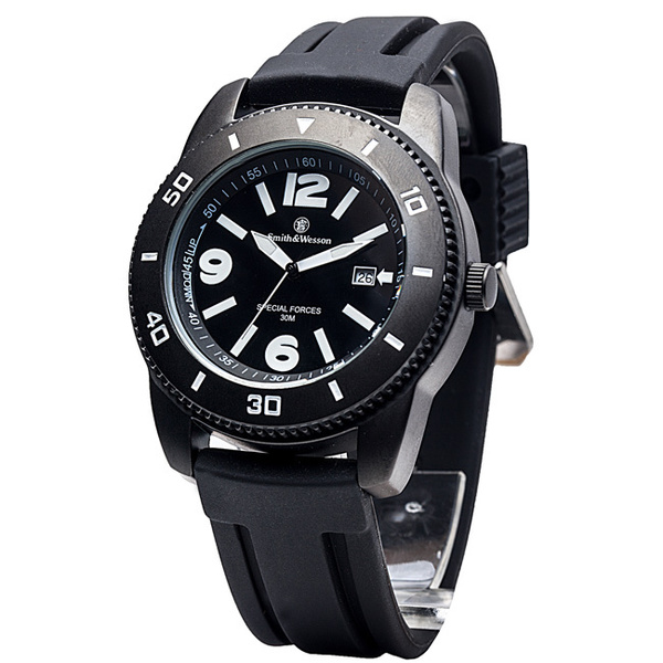 Smith & Wesson Paratrooper Watch, Rubber Band