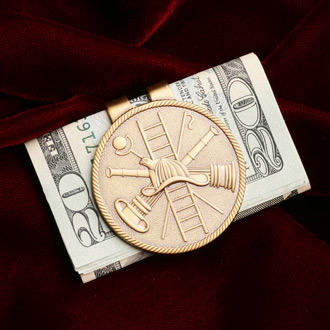 Blackinton Firefighter's Money Clip