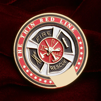 Blackinton Thin Red Line Coin