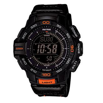 Casio Pro Trek Tough Solar Triple Sensor Tactical Watch