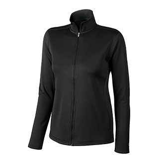 Champion Women's Double Dry Colorblock Full-Zip Jacket