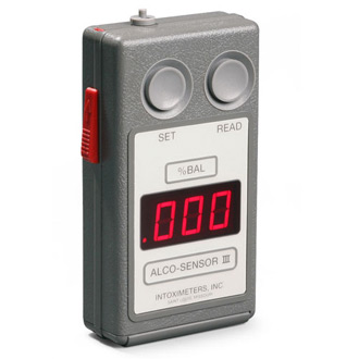 Intoximeters Alco Sensor III
