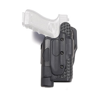 X Calibur Dual Retention Lightbearing Duty Holster