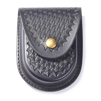 Galls Leather Round Bottom Economy Cuff Case