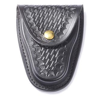 Galls Leather Closed-Top Cuff Case