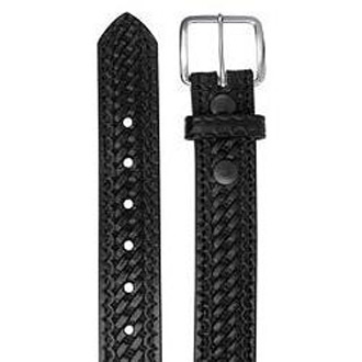 "LawPro 1 1/2"" Premium Leather Uniform Belt"