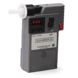 Intoximeters Alco Sensor IV hand held breathalyzer green dot