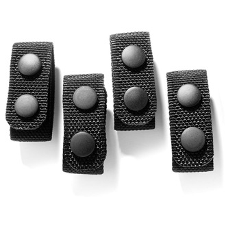 Galls Molded Nylon Belt Keepers (4 Pack)