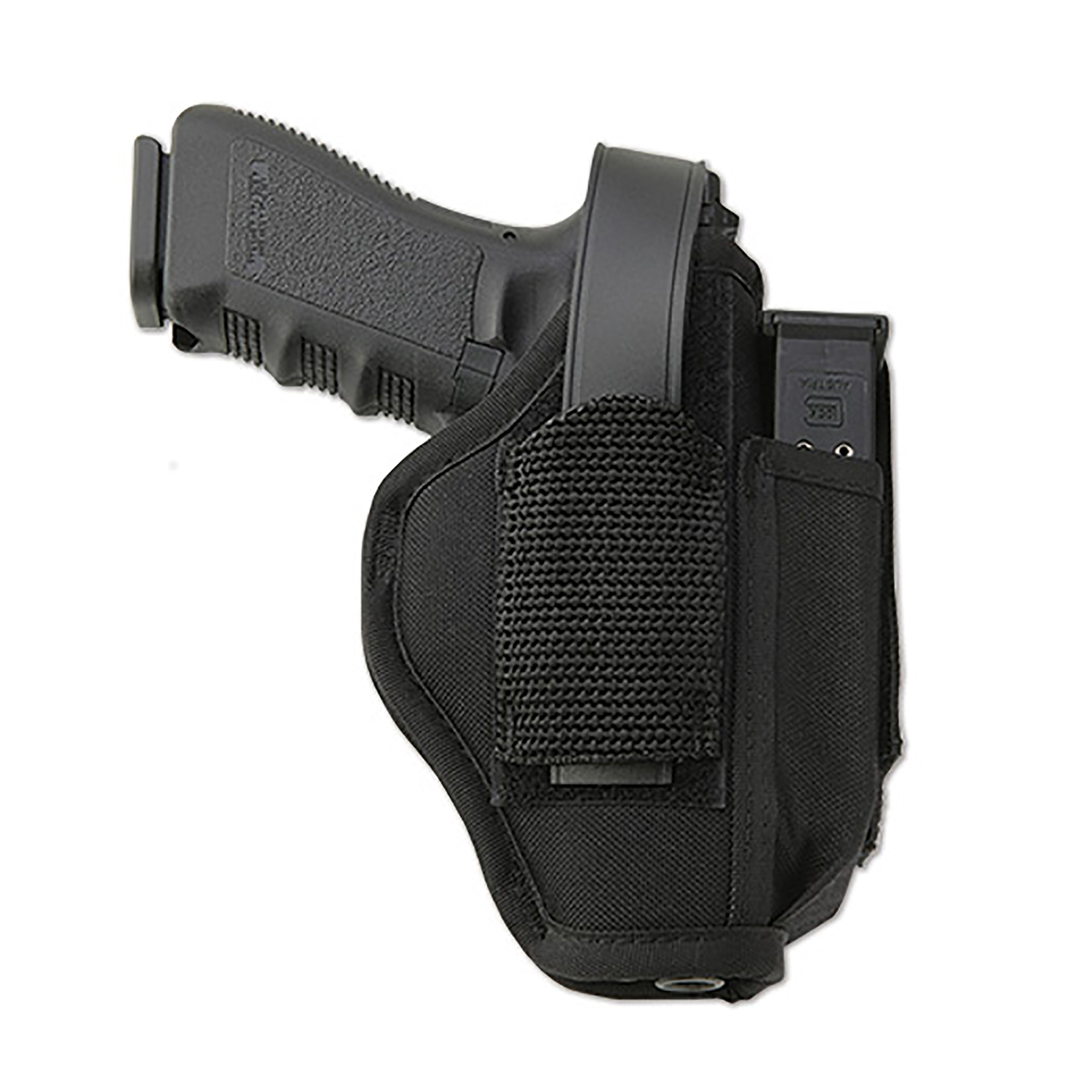Uncle Mikes Ambidextrous Holster with Mag Pouch