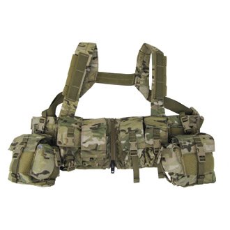 London Bridge Trading Load-Bearing Chest Rig with Zipper