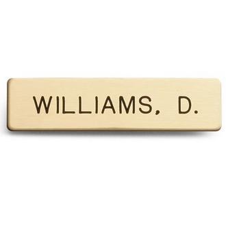 Galls Standard Nameplate 1 Line
