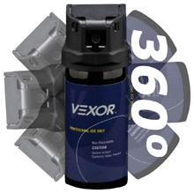 Vexor MK-4 Full Axis Flip Top Pepper Spray