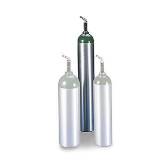 Allied Healthcare Products Aluminum E O2 Cylinder