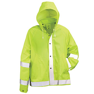 "Neese Lime Green 30"" Rain Jacket"