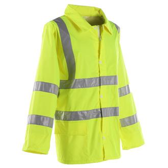 Galls ANSI 3 Hi Vis Reflective Rain Jacket
