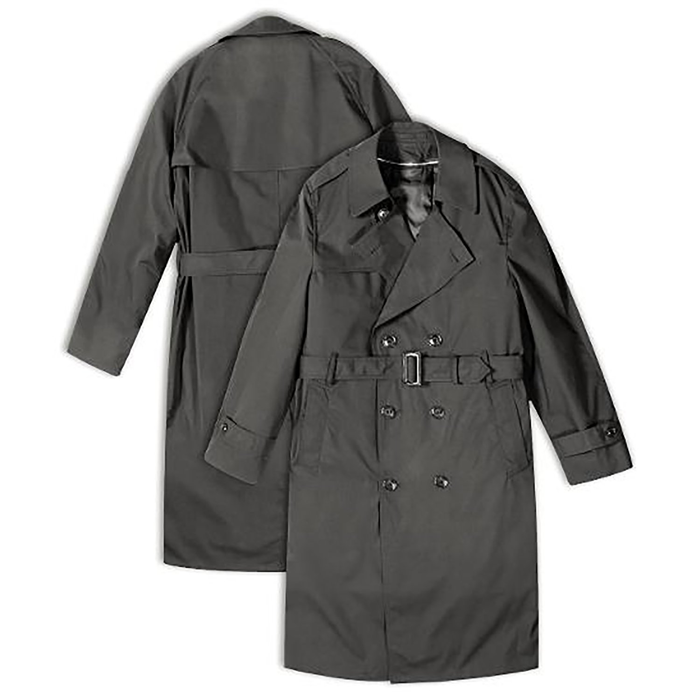 Taylors Leatherwear Patriot Trench Coat Rain Jacket