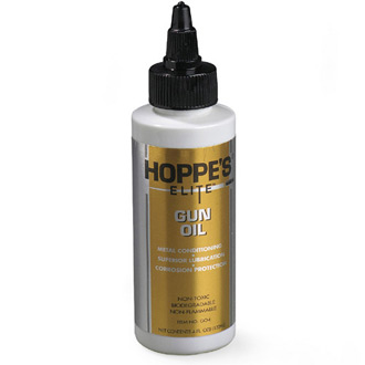 Hoppe's Elite Gun Oil 4 oz. Bottle